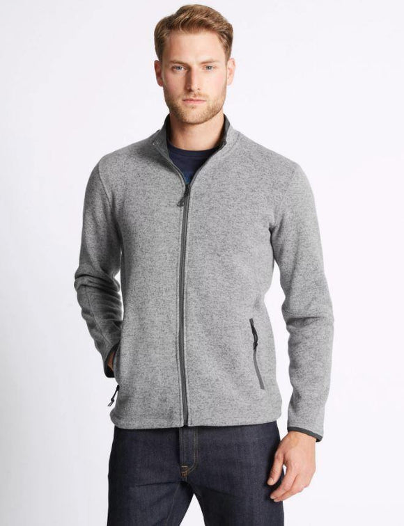M&S Men Fleece F/S Zipper T28/2125M