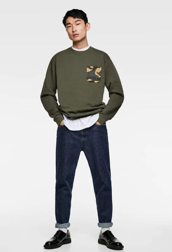 ZaraMan F/S Cotton Sweat Shirt 0761/400/505