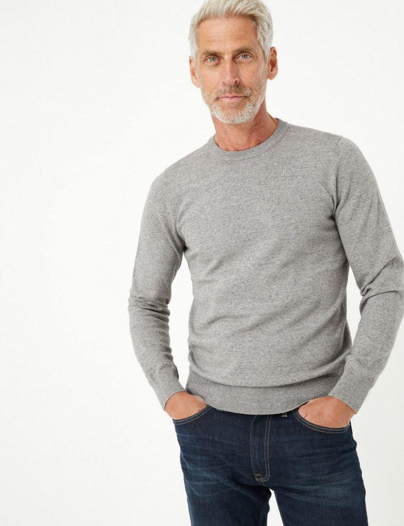 M&S Mens L/S R-Neck Cotton Jersey T30/2815M - enemmall.com