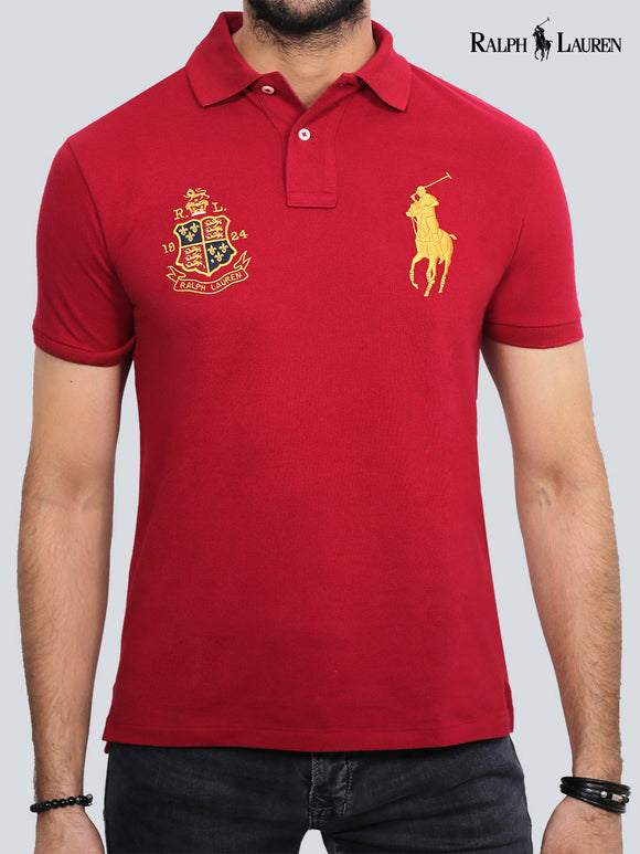 Ralph Lauren Mens S/S Polo Badge With Pony 35820351060