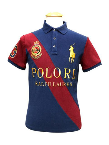 Ralph Lauren Mens Badge S/S Polo 710781485001 - Enem Store - Online Shopping Mall. The Generations Store