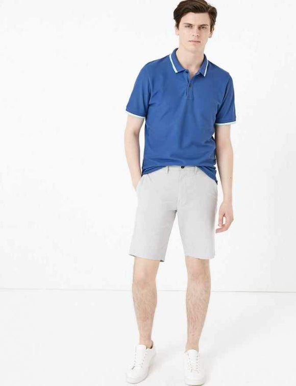 M&S Mens S/S Polo T28/5010S - enemmall.com