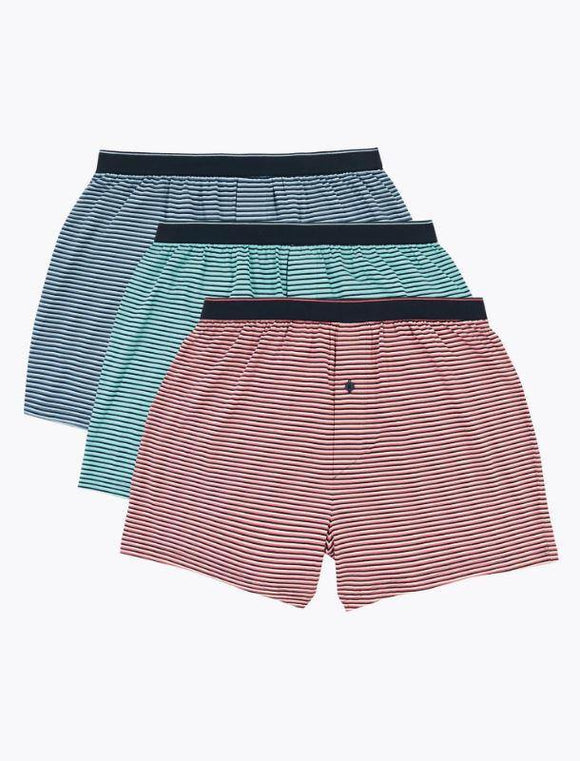 M&S Mens Cool & Fresh Knitted Boxer 3 Pair T14/8330F