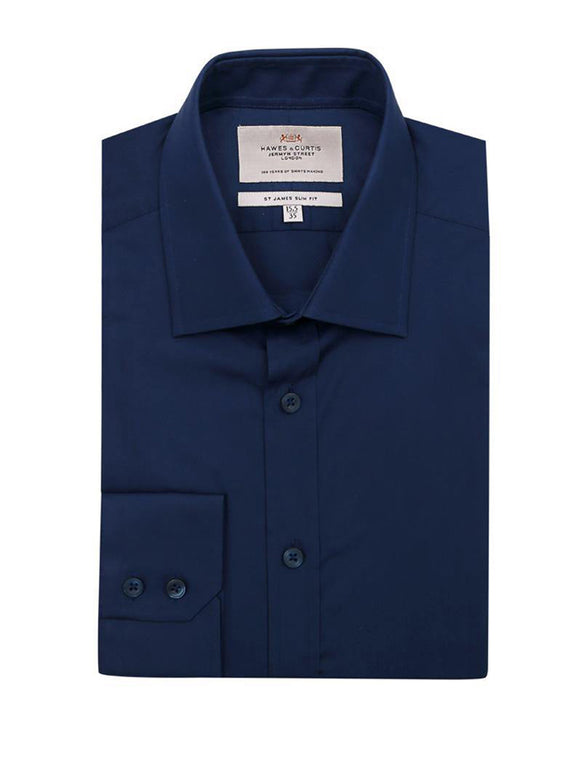 H & C Men Formal F/S Shirt Plain SSPGA920 - enemmall.com