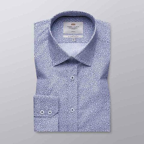 H & C Men Formal F/S Shirt Printed EDDMU004