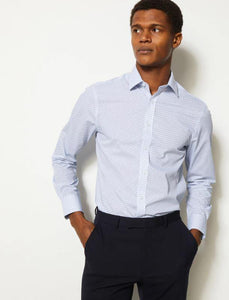 M&S Mens F/S Formal Shirt T11/2326S - enemmall.com