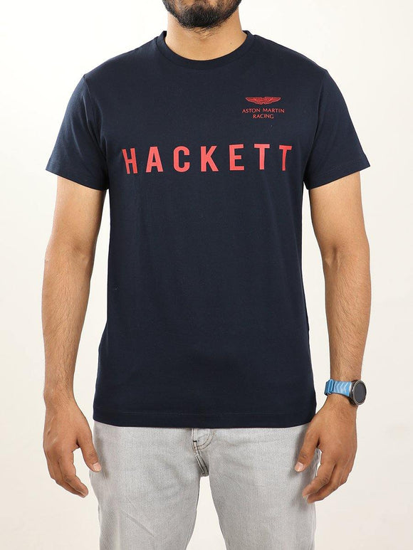 Hackett Men S/S R-Neck Aston Martin T-Shirt HM500352