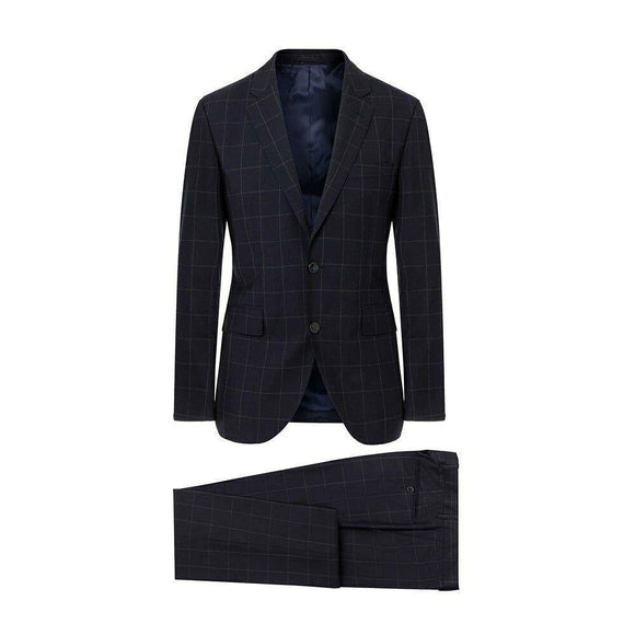 Hackett Mens Wool 2-Pcs Suit HM422701