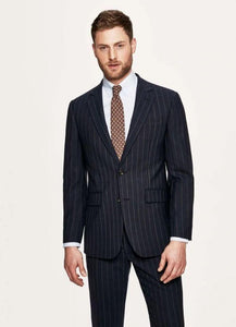 Hackett Mens Wool 2-Pcs Suit HM422738