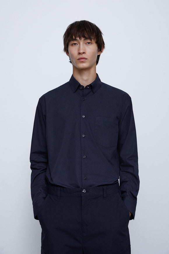 ZaraMan Casual L/S Plain Shirt 5801/396/401