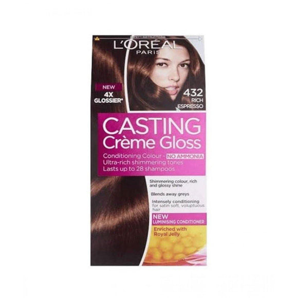 LOREAL PARIS DARK GOLDEN BROWN 432