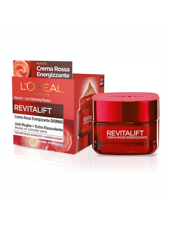 Loreal De Revitalift Ginseng Red Cream Day 50ml - enemmall.com