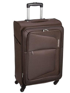 American Tourister Trolly Bag Costa Spinner TSA 55cm Brown - enemmall.com