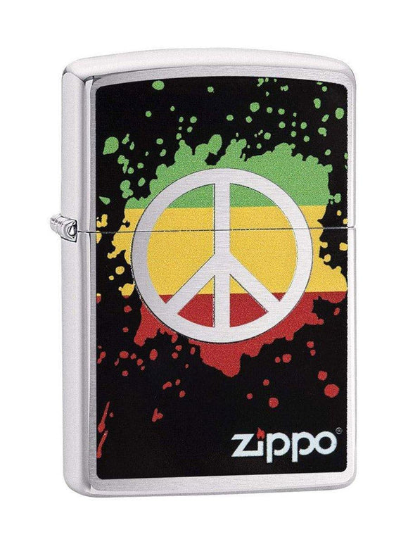 Zippo Lighter 29606 Peach Splash - enemmall.com