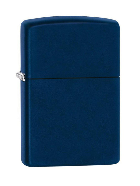 Zippo Lighter 239 Reg Navy Blue Matte - enemmall.com