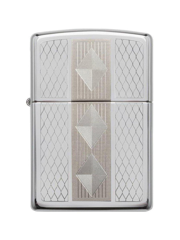 Zippo Lighter 29424 Diamond Grill - enemmall.com