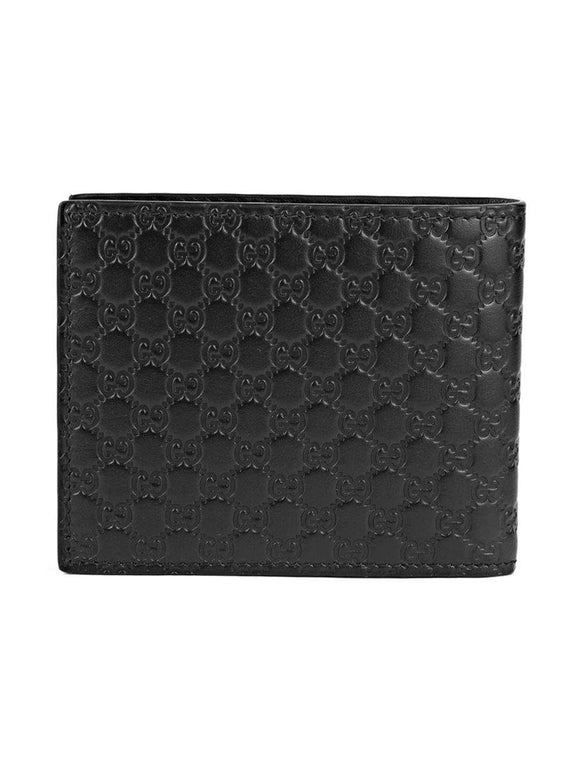 Gucci Mens Leather Wallet 260987/KY9LN Black