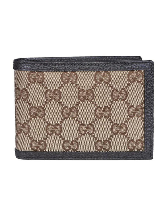Gucci Mens Leather Wallet 260987/KY9LN Brown