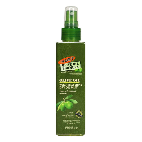 Palmers Olive Oil Weightless Shine Dry Oil Mist 178ml