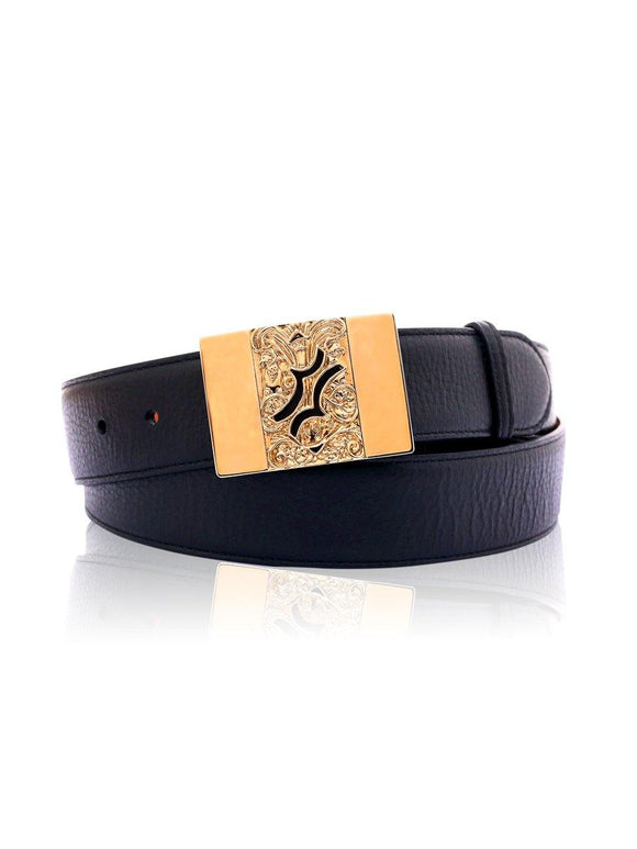 Billionaire Men Leather Belt MVA-0157-BLE010N
