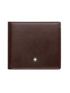 Wallets Mont Blanc MST 4CC Coin Brown 114546 - enemmall.com