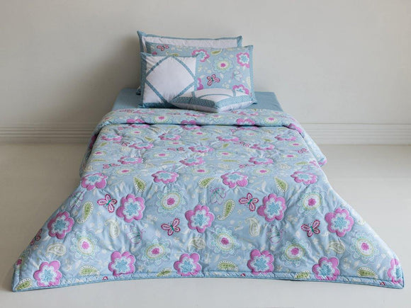 SEJ Kids Comforter Set Bluebells