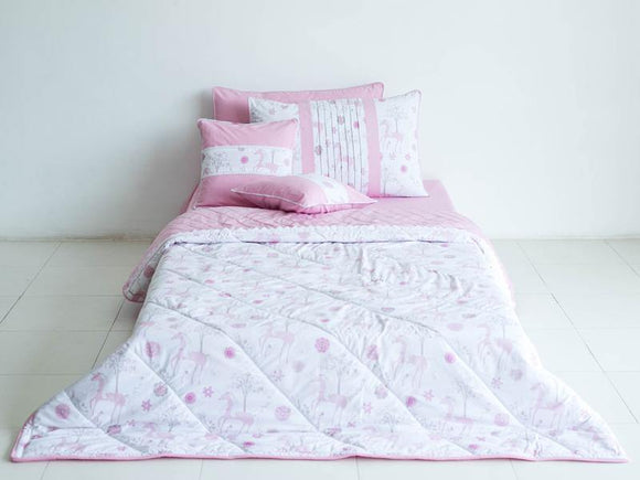SEJ Kids Comforter Set Pink Unicorn 2