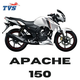 Online TVS Apache 150 Spare Parts Price List at www.eauto.co.in