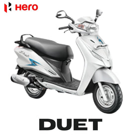 Online Hero Duet Spare Parts Price List at www.eauto.co.in