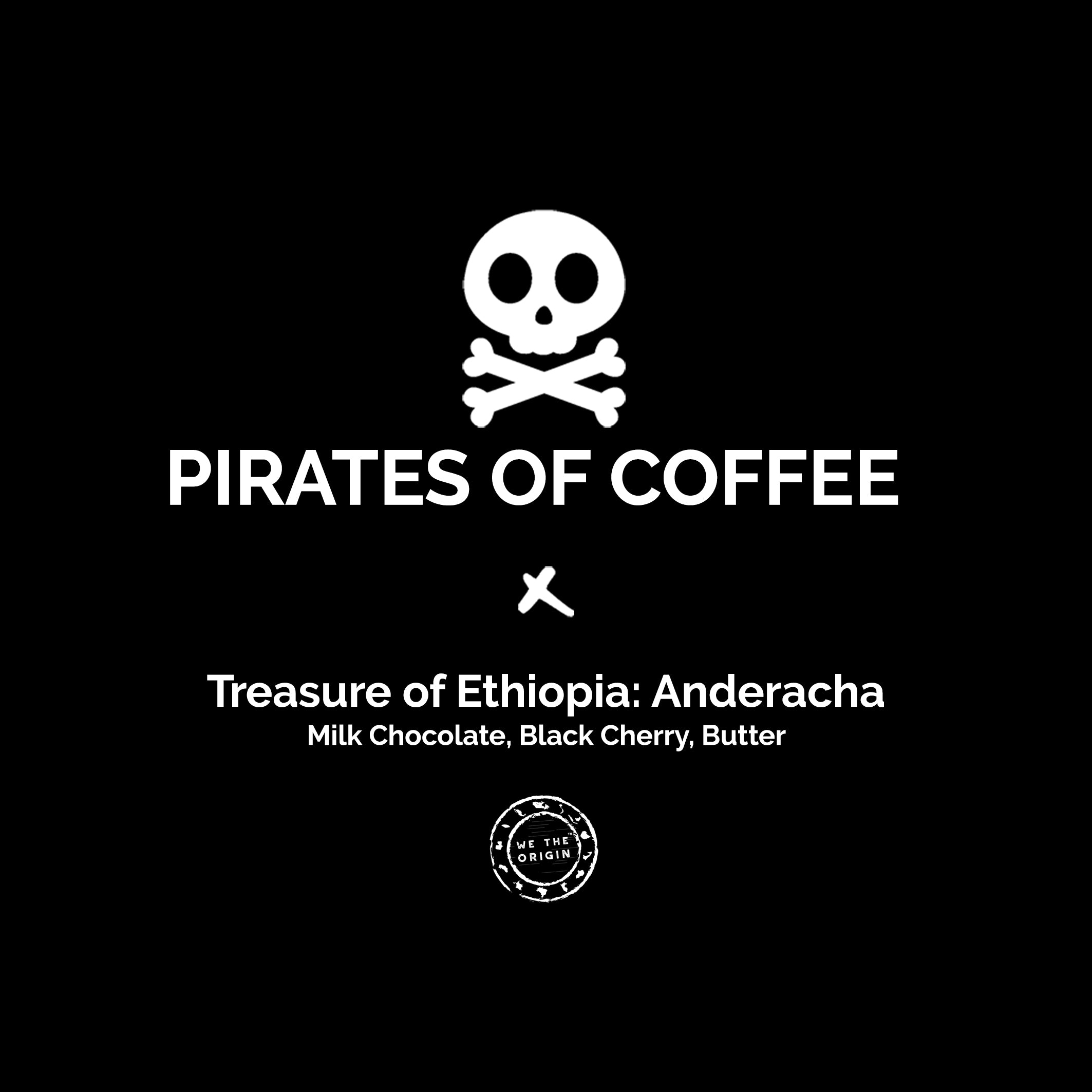 TREASURE OF ETHIOPIA: ANDERACHA