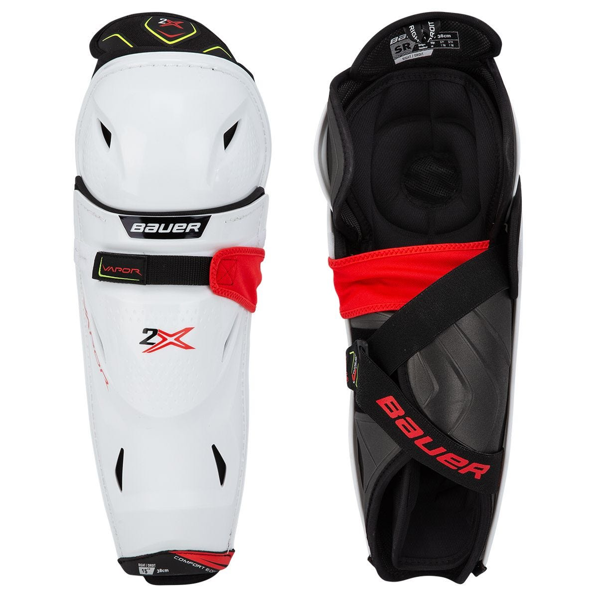 Bauer Vapor 2X Senior Hockey Shin Guards