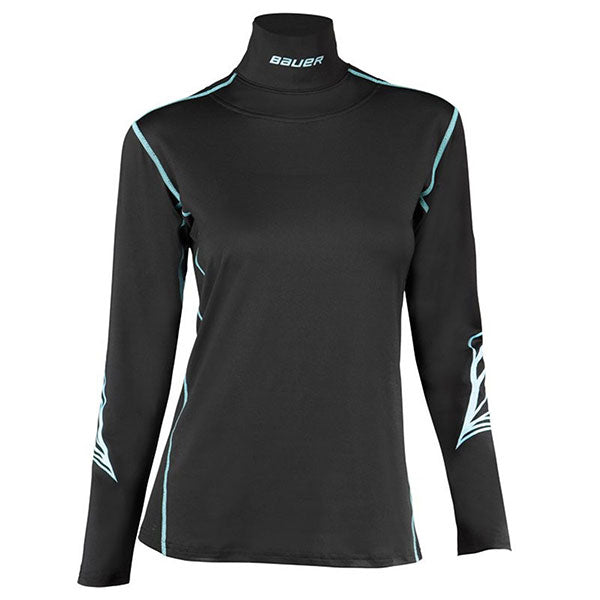 Bauer Womens LS Neck Top Integrated