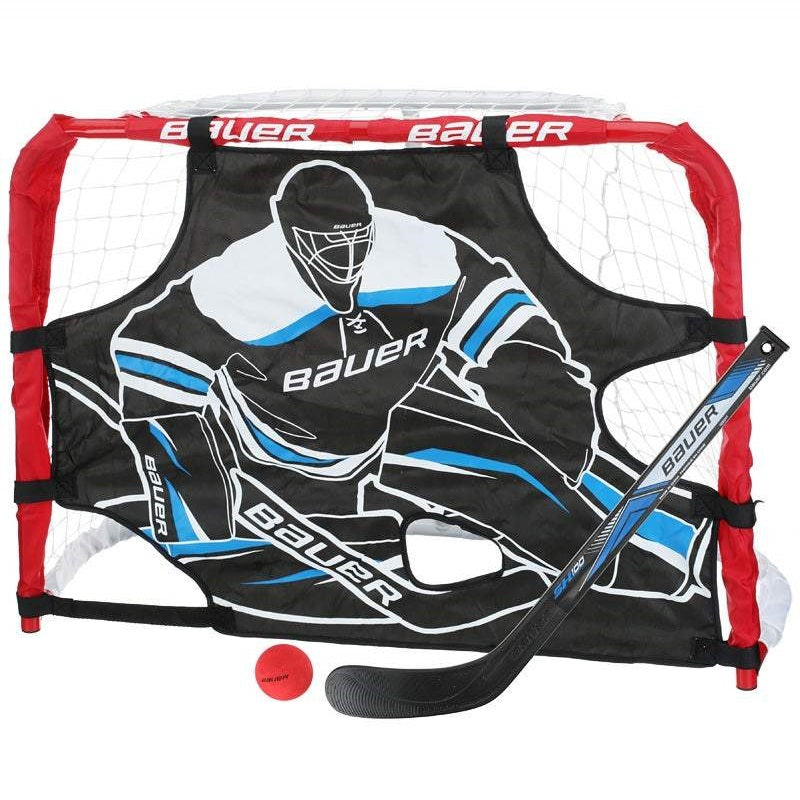 Bauer Pro Mini Knee Hockey Goal Set