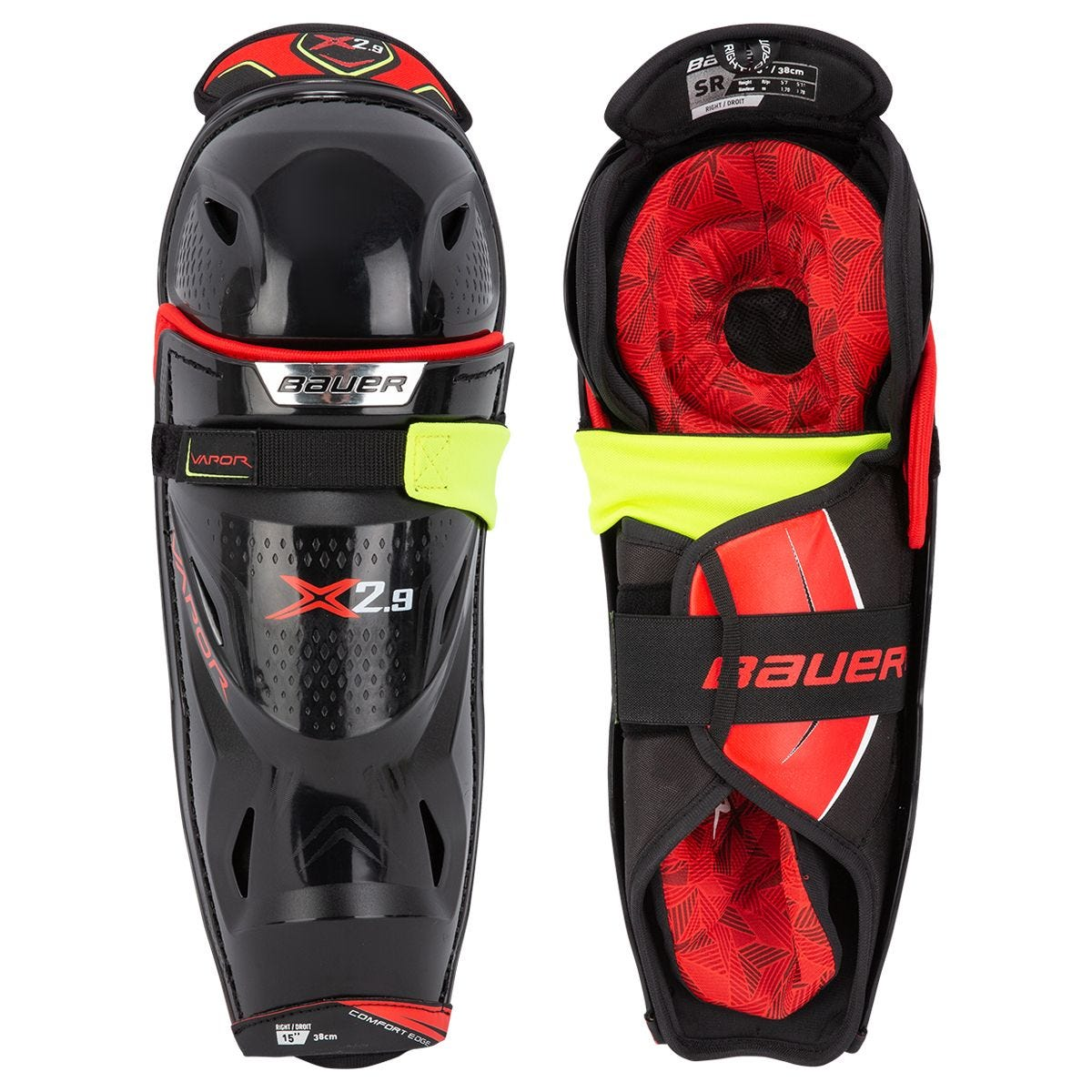 Bauer Vapor X2.9 Senior Hockey Shin Guards
