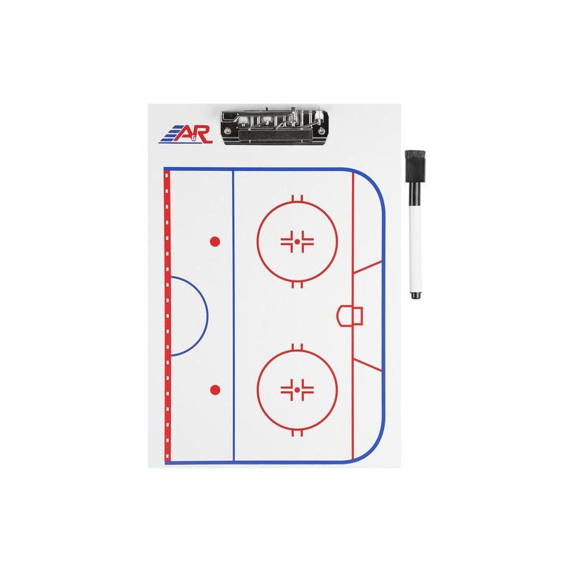 "A&R Dry Erase Coaches Clipboard 9"" x 13"""