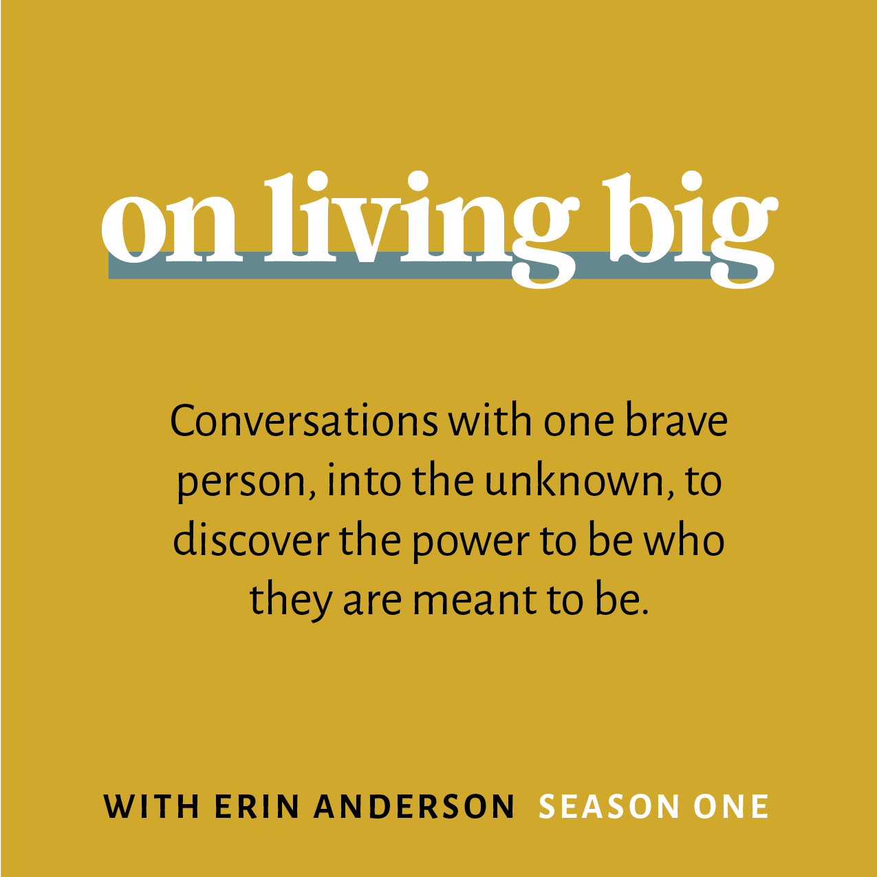 Power to Be with Erin Anderson