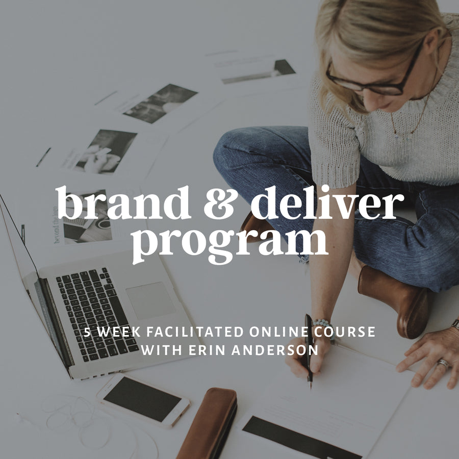 Self Led Brand & Deliver Program