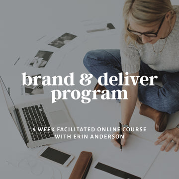 Founder Led Brand & Deliver Program