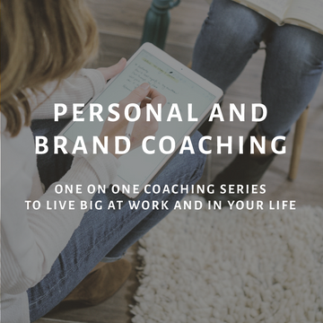 Brand and Personal Coaching