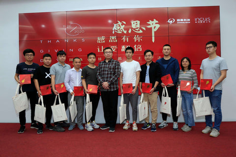 Googoltech team members were gifted Kite smart personal sound amplifier