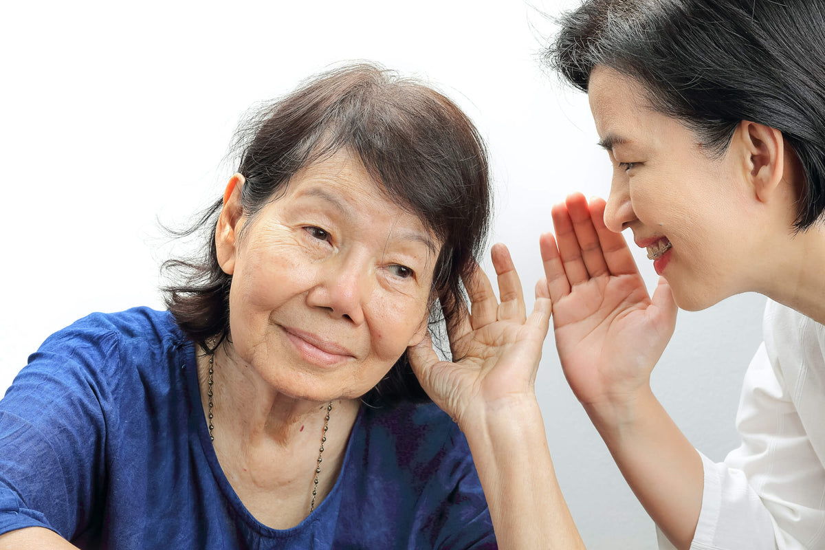 Hearing-impaired receiving hearing care