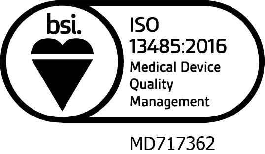 Incus is ISO 13485 certified by BSI
