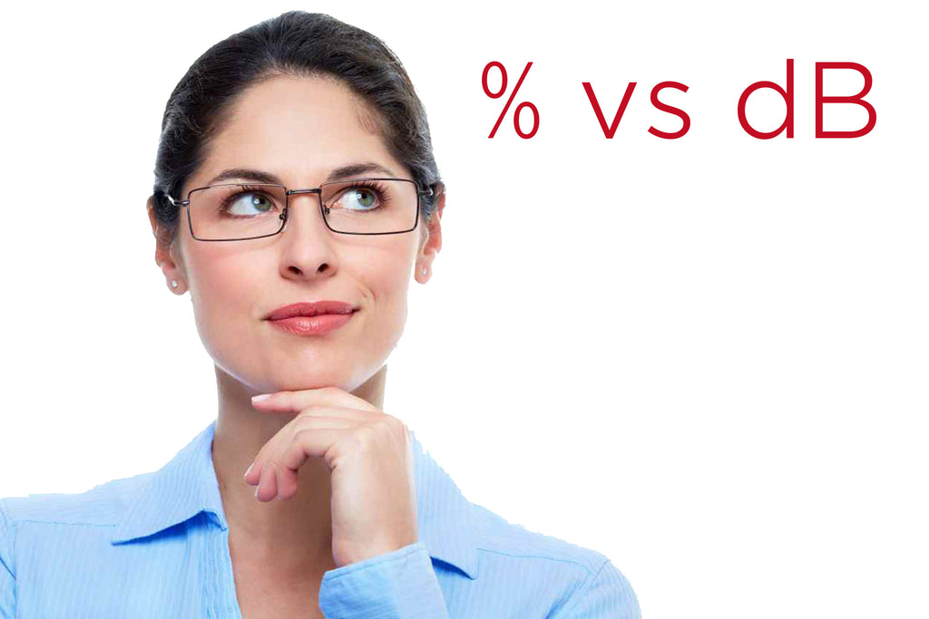 woman confused about hearing loss percentage vs degree
