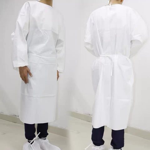 Isolation Gown with Elastic Cuff, package of 10