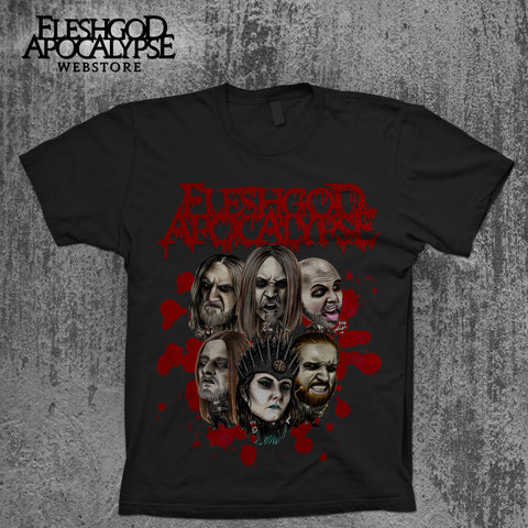 Family Portrait T-shirt (Black)