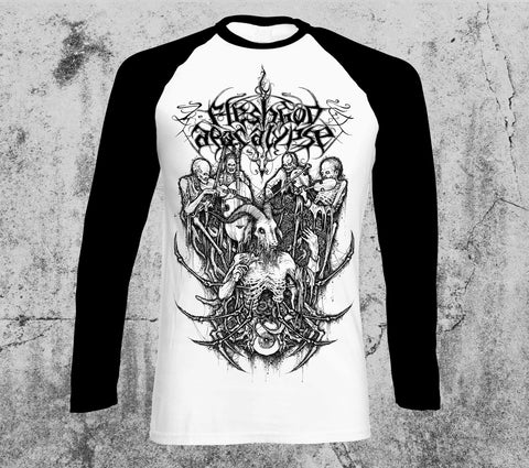 Dead Orchesta Reissue Black and White Longsleeve T-shirt