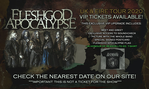 V.I.P. Package Live Show (UK & Eire TOUR 2020)
