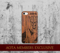 Dead King Phone Wooden Case LIMITED