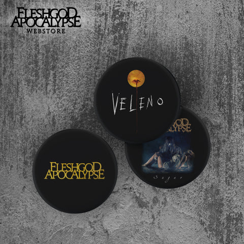 Veleno Pins Set *LIMITED EDITION*