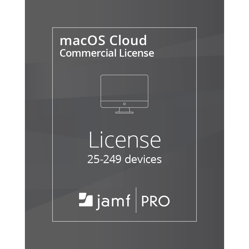 Jamf Pro macOS Cloud License (25-249 Devices) - Commercial